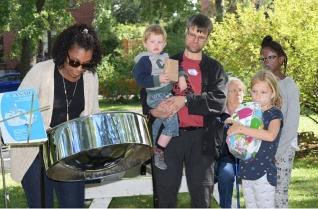 block party - steel drum